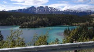 США Остановка в Skagway Поездка в Yukon Canada