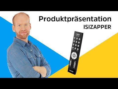ISIZAPPER | Die einfache Fernbedienung mit großen Tasten. | TechniSat