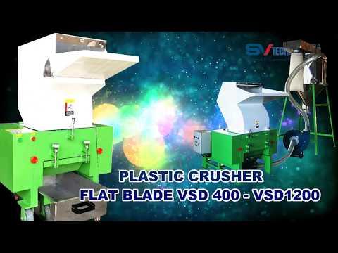 30HP SVPD800 Plastic Crusher