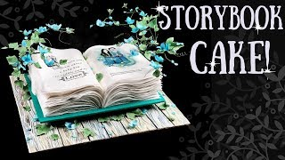 How To Make A Storybook Cake! With Shelby Bower