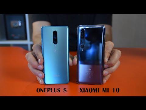 OnePlus 8 против Xiaomi mi 10 (сравнение флагманов на Qualcomm Snapdragon 865) / Арстайл /