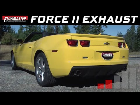 Flowmaster Force II Axle-back Exhaust System