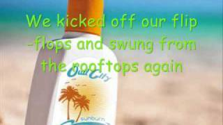 Sunburn by Owl City lyrics