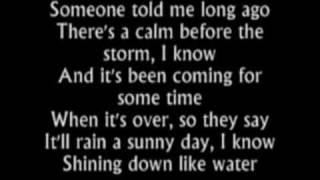 "Video thumbnail of ""Have You Ever Seen the Rain-Rod Stewart (lyrics)"""