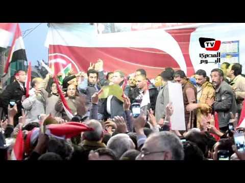 المئات يلبون دعوة «عكاشة» لدعم الدستور بالدقهلية
