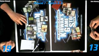 preview picture of video 'MTG Magic PTQ Standard Catskill, NY Round 8 Game 1 122014'