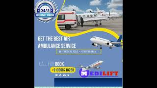 Air Ambulance  in Indore for Impeccable Shifting by Medilift