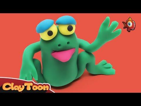Frog - Polymer clay tutorial
