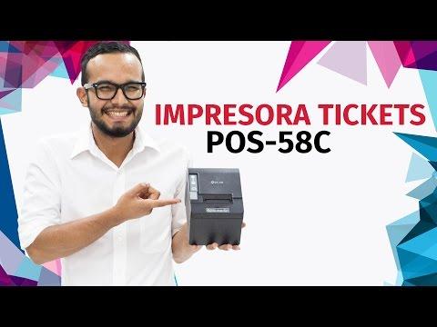 191 C 243 Mo Configurar La Impresora De Ticket Sicar Pos 58c