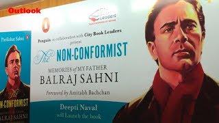 Launch Of Parikshat Sahni's Book 'Non Conformist Memories of My Father Balraj Sahni' In Delhi
