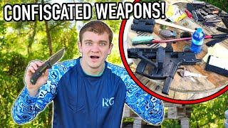 I Bought CONFISCATED AIRPORT WEAPONS From EBAY!