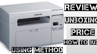 Best for Home Use Multifunction Photocopier Printer Scanner Samsung Scx 3405 Review Unboxing & Price