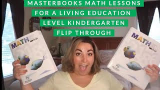 Masterbook Math Lessons For A Living Education Level K Flip Through