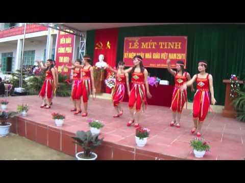 Múa nàng sơn ca đẹp nhất kỉ niệm ngày nhà giáo Việt Nam nhân 20/11/2013