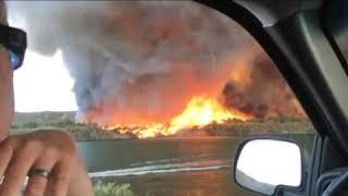 Firenado Water Spout MUST SEE