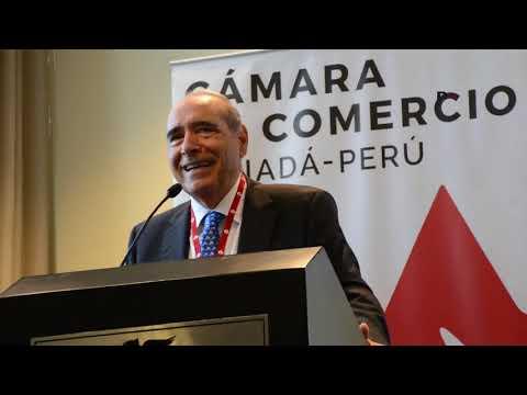 Roberto Abusada, Presidente del IPE / Desayuno Cámara de Comercio Canadá Perú
