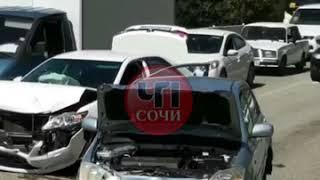ДТП по улице Ленина в Сочи