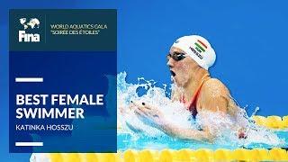 Katinka Hosszu - Best Female Swimmer   FINA World Aquatics Gala 2018 In Hangzhou