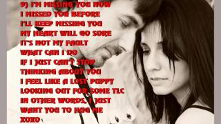 Top 15 I Miss You Poems for Girlfriend
