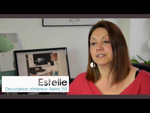 Décoratrice d'intérieur Reims 51100 Marne - Estelle bande-annonce