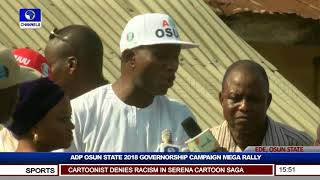 Osun ADP Holds Governorship Campaign Rally Pt.5