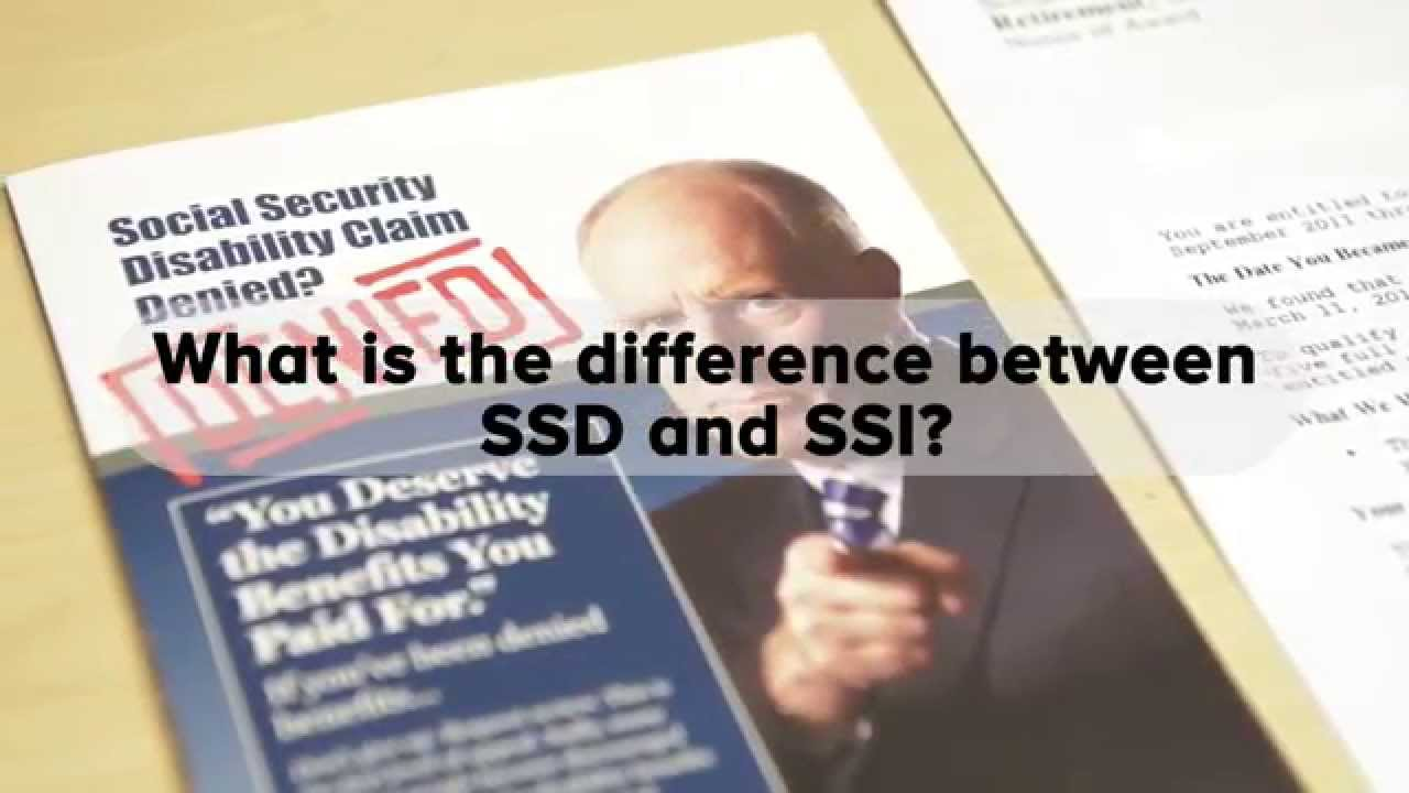 What's the Difference Between SSDI and SSI Benefits?