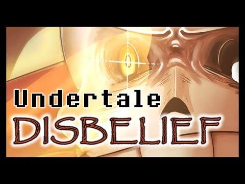 Disbelief Papyrus - Undertale SPEEDPAINT - смотреть онлайн
