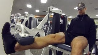 Gym Workout Routine - Legs Exercises - Saturday by Buff Dudes