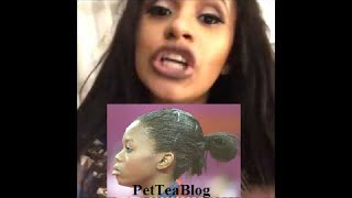 Cardi B Addresses Gabby Douglas Hair
