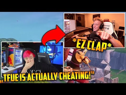 , title : 'NINJA *ACCUSES* TFUE of HACKING! They meet in public game! | Fortnite Clips'