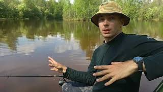 Зимняя рыбалка на реке сестра