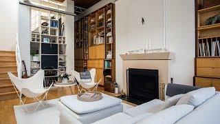 Interior Design — A White Palette Wows In This Bright Toronto Loft Rental
