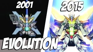 EvolutionofSATELLITECANNON|GundamX20thAnniversary|スーパーロボット大戦|SRW