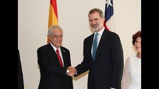 Encuentro bilateral entre S.M. el Rey y el Presidente de la República de Chile,, Sebastián Piñera