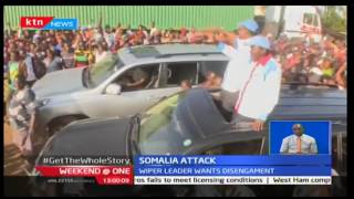 Weekend@One: Wiper Leader-Kalonzo Musyoka talks about Al Shabaab ambush on KDF soldiers