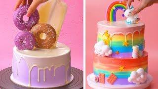 Top 10 Beautiful Cake Tutorials | Best Colorful Cake Decorating Ideas | So Yummy Cake Design 2020