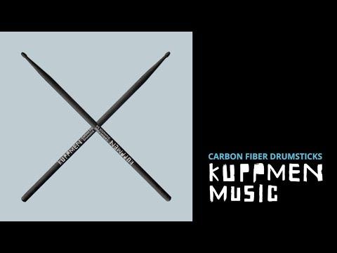 Kuppmen Carbon Fiber Professional Drum Rods 7A  lasts up to 30 X longer 1 pair