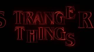 Stranger Things - Favorite Scene - Wrecking the set