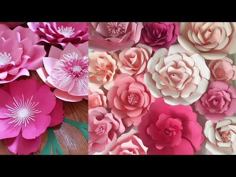 Download Paperflower Backdrop Decoration Ideas 3gp Mp4 Entplanet