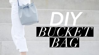 How to Make a Bucket Bag (Mansur Gavriel style)   WITHWENDY