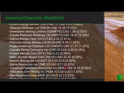 InvestorChannel's Palladium Watchlist Update for Monday, M ... Thumbnail