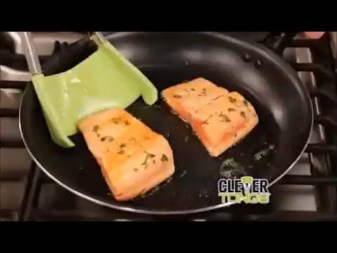 Servierzange 2 in 1 Küchenspatel ein muss für jede Küche