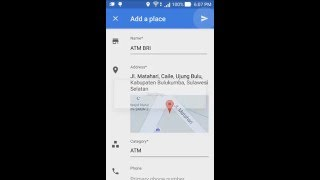 Add photo of your home shop or any public place in google map how to add place in google map mobile ccuart Images