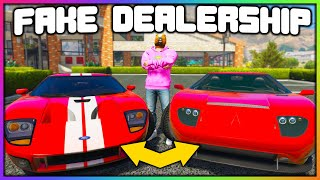 GTA 5 Roleplay - STEALING REAL CARS / GIVING FAKE ONES BACK   RedlineRP