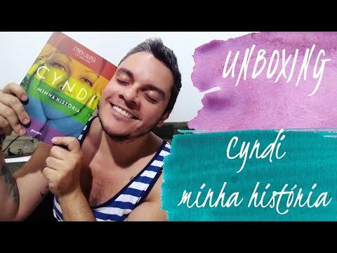 Unboxing Cyndi Minha História   Editora Belas Letras