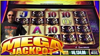 #JACKPOT #HANDPAY! ** ALL 15 BUFFALO GOLD HEADS $11 BET! INSANITY!