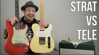 Telecaster Vs Stratocaster - Which Guitar Do You Like More?