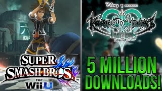 Sora Mod For Super Smash Bros 4, Unchained X 5 Million Downloads, ESRB For KH2.8