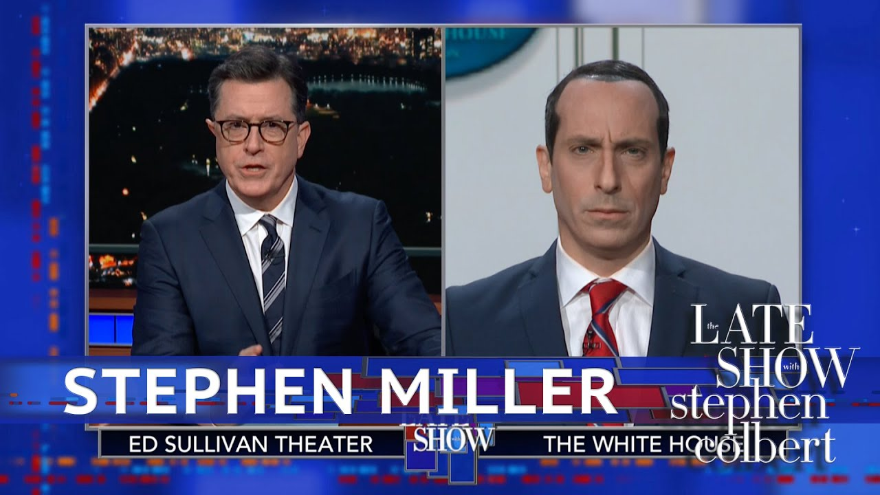 Stephen Miller Has A Bad Hair Day thumbnail