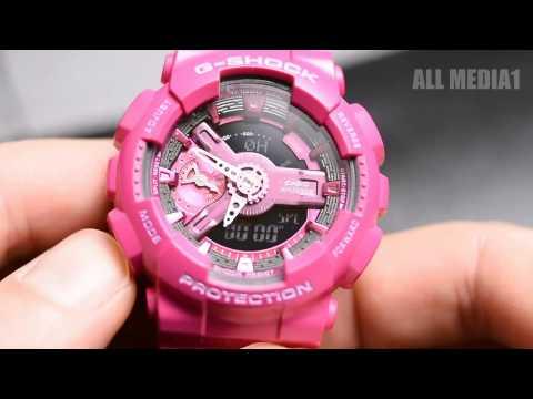 CASIO G SHOCK GMA-S110MP PINK WATCH